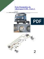 Sistema de Freio Pneumático Do Caminhão Volkswagen 8
