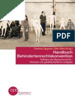 Handbuch Behindertenrechtskonvention Blick Ins-Buch
