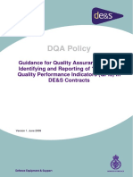 DQA Policy