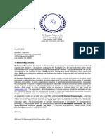 MDR's RFP Letterhead