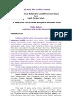 Tugas Ayat & Hadits Ekonomi, Kebijakan Fiskal