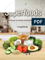 Superfoods List eBook