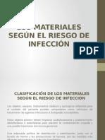 CLASIFICACIÓN DE EQUIPOS Y ARTÍCULOS DE RIESGO DE CONTAMINACIÓN.
