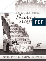 Home Educators Scope and Sequence
