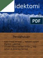 Thiroidektomi
