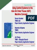 Air Dried Tissue Machine Drive System English