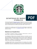 Estrategias de Marketing de Starbucks