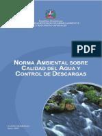 Norma Ambiental Para La Calidad Del Agua y Control de Descargas