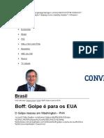 BOFF E O GOLPE