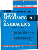 Solved Problems in Fluid Mechanics and Hydraulics