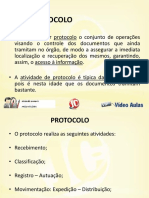 Noçoes de Protocolo e Arquivo