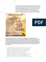 La Austrialia Del Espiritu Santo Captain Quiros and the Discovery of Australia in 1606.(History)
