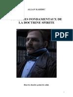 Kardec Allan Liste Des Ouvrages Fondamentaux de La Doctrine Spirite