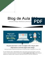 50 Pasos Para Hacer o Crear Una Página Web o Blog