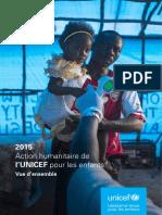 Action humanitaire pour les enfants 2015 (résumé)