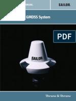 Sailor 6110 GMDSS Manual de Instalação