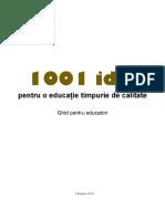 1001 Idei Educatie