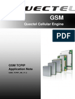 Quectel GSM TCPIP Application Note V1.2