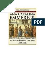 Visiones y Revelaciones de Ana Catalina Emmerick - Tomo XIII