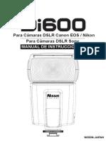 Manual Di600 SP Rev0613.1.0