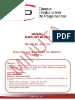 MAPX- Nova C3 Manual de Leiautes - V1.4.2