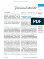 Biofield Physiology a Framework for an Emerging Discipline