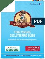 Vintage Cash Cow - Vintage Decluttering Guide