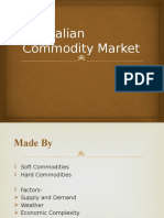 Australian Commodity Market