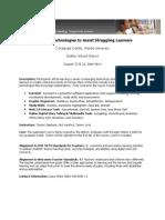 Emerging Technologies Flyer