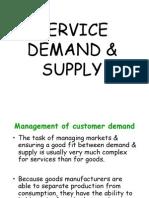 Service Demand & Supply