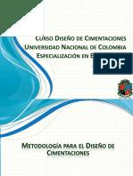 Manizales Cimentaciones Metodologia de Calculo V2015!01!21