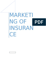 Marketing of Insurance