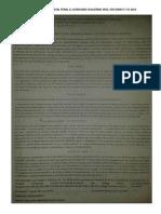 Escritos, Primera Recuperación Procesal Penal II