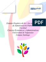 Estatuto Organico CEEAPU
