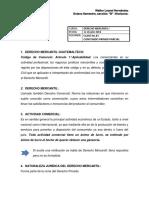 Elementos fundamentales de Derecho Mercantil I