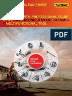 Equipment Professional Brochure En