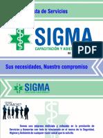 Sigma Capacitacion y Adiestramiento Empresarial 1