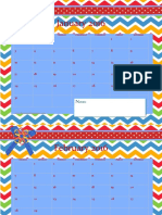 2016 Primary Chevron Calendar