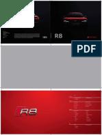 Audi r8 Brochure Revised