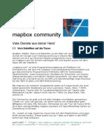 Maxbox Mapbox GEO Services