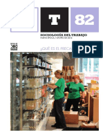 Revista Sociología del Trabajo, nº 82