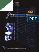 Festival Latinoamericano de Musica XIX