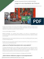 Que Tributos Debes Pagar en Una Importación de China Al Perú - DIARIO DEL EXPORTADOR
