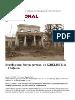 Bogatia Unui Baron German de IZBELISTE La Chisinau
