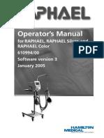 Operator Manual Raphael