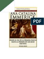 Visiones y Revelaciones de Ana Catalina Emmerick - Tomo V