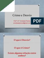 4 Aula Crime e Desvio