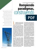 Rompiendo Paradigmas, Construyendo Futuros -Matriz Energetica