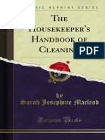 The Housekeepers Handbook of Cleaning 1000000172