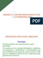 procesos afectivos